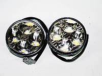 Дневные Ходовые Огни DRL4 LED диода Круглые, фото 1