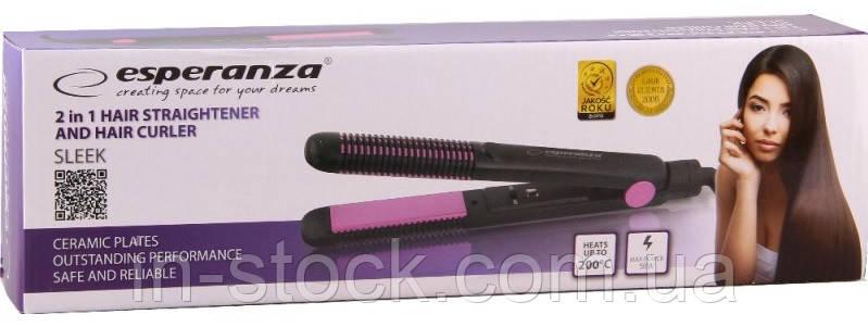 Випрямляч для волосся Esperanza EBP002