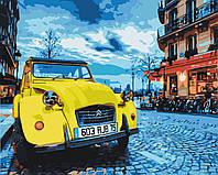 """Картины раскраски по номерам """"Винтажное авто"""" набор для творчества"""