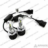 LED лампы ALed R HB4(9006) 6000K 4000 Lm