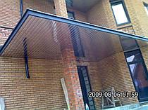 Козырки ( алюминиевые реечные потолки ) -1