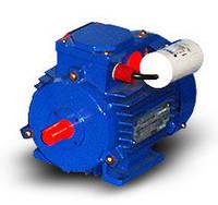 однофазный электродвигатель,220В, АИРМУТ 63А2  0,37кВт/3000 об/мин