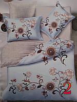Комплект постельного белья с двумя наволочками 180х200