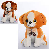 Мягкая игрушка MP 1378 (48шт) собачка, размер средний, звук, на бат-ке, 23см