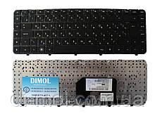 Оригинальная клавиатура для ноутбука HP Pavilion: dv6-3000, dv6-4000 series, rus, black, с фреймом