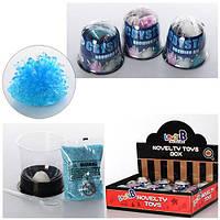 Набор для творчества MK 0581 (72шт) растущий кристалл,3цвета,в колбе 7,5см, 12шт в дисплее,32-24-8см