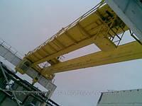 Кран мостовой электрический двухбалочный г/п 60/20 т.
