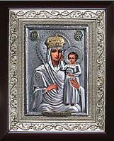 Икона Богородицы Призри на смирение (позолота)