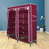 Тканевый шкаф органайзер для хранения обуви
