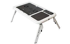 Подставка Столик для Ноутбука E-TABLE с Охлаждением