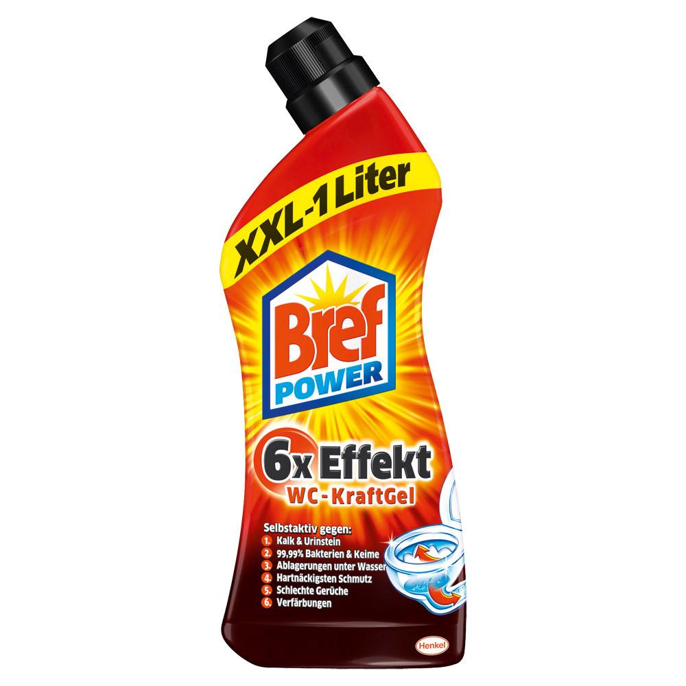 "Bref Power 6x Effekt WC-KraftGel - Сила для стойких загрязнений Bref 6x эффект для туалет 1 л - Интернет-магазин ""Altro"" в Ужгороде"