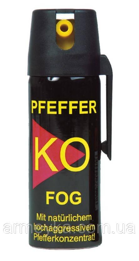 Газовый баллончик аэрозольный Pfeffer KO FOG 50Ml. Германия, оригинал.