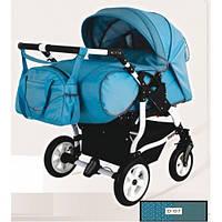 Прогулочная коляска для двойни  Adbor DUO STARS D-07