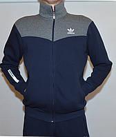 Мужской утепленный спорт. костюм Adidas 1698(штаны-прямые)