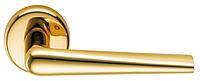 Дверные ручки COLOMBO ROBOTRE CD 91 - полированная латунь