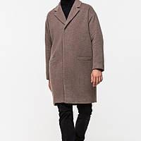 Строгое мужское зимнее пальто