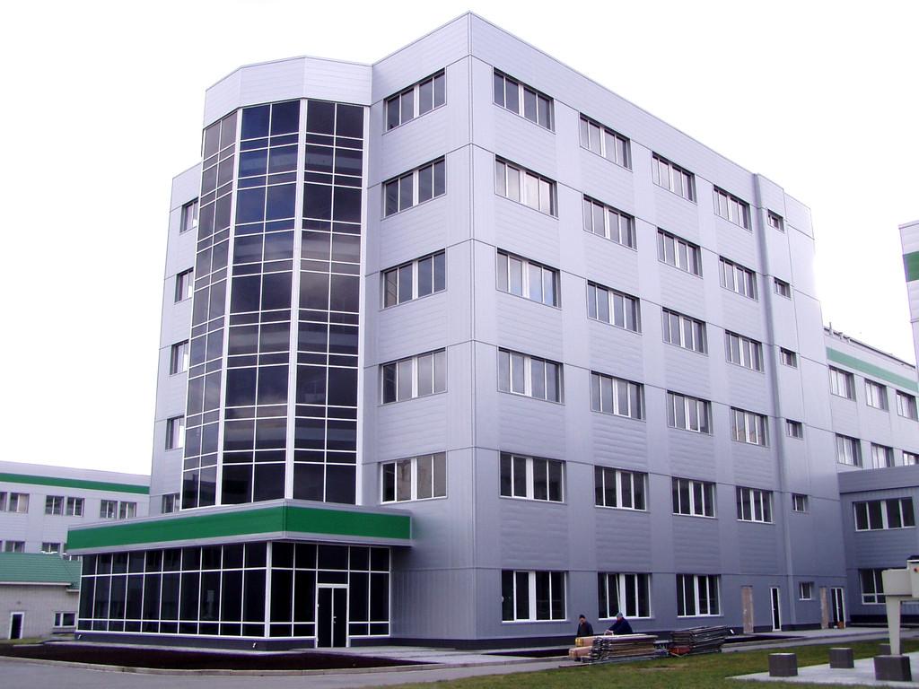 Алюминиевый реечный фасад