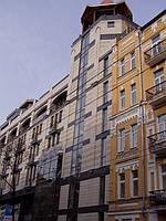 Фасад из керамогранита 3
