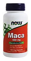Мака перуанская (корень) / NOW - Maca 500mg (100 caps)