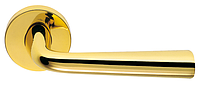 Дверные ручки COLOMBO TENDER MG 11 - полированная латунь