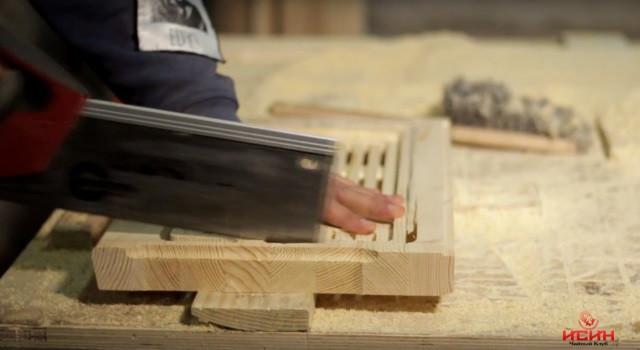 чабань из дерева производство