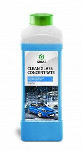 "Средство для очистки стекол и зеркал ""Clean glass concentrate"" (канистра 1л), Grass TM"