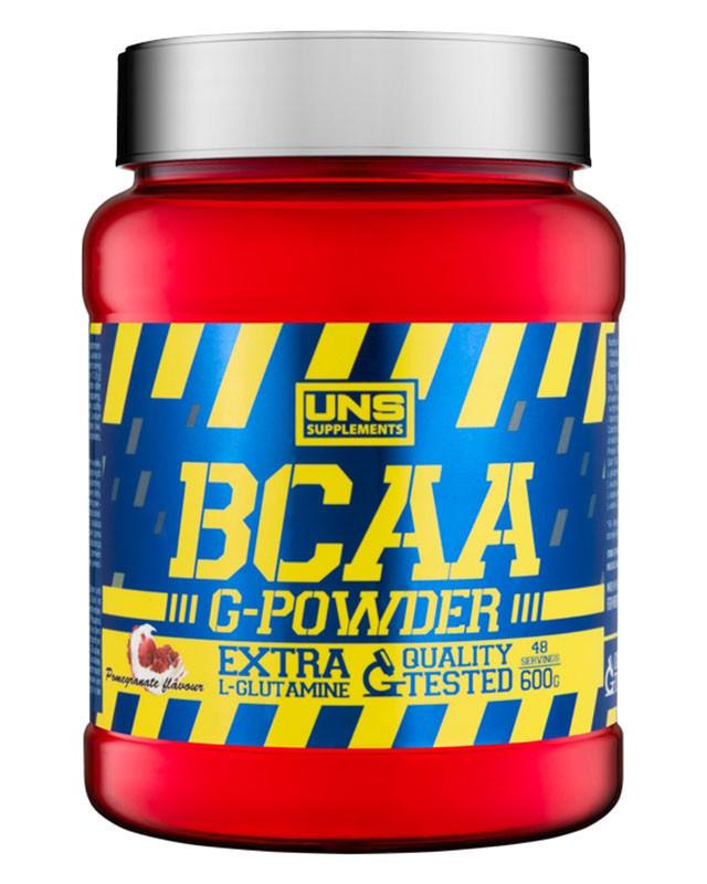 UNS BCAA G-POWDER 600 g, ЮНС БЦА Джи-Повер 600 грамм