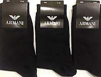 Носки мужские демисезонные «ARMANI» 41-45 размер, чёрные