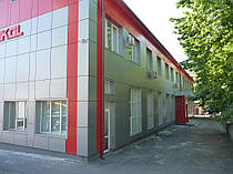 Вентилируемый фасад кассетного типа -1