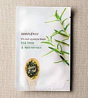 Тканевая маска Innisfree It's Real Squeeze Mask чайное дерево, фото 1