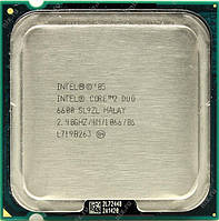 Процессор компьютера ПК Intel Core2Duo E6600 2.66GHz/4M/1066