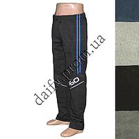 Мужские трикотажные брюки с начесом 6026 оптом со склада в Одессе