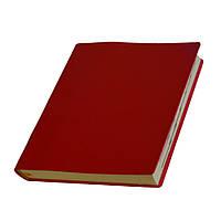 Ежедневник Сантьяго датированный, кремовый блок, красный от 10 шт