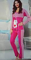 Ангора женская пижама теплая для дома
