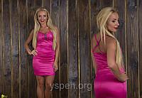 Платье атласное 663 (29) $