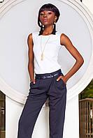 Практичная Блуза без Рукавов из Дайвинга Белая S-XL