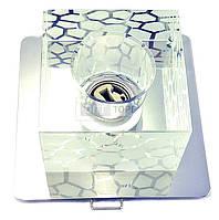 Светильник точечный Lemanso Светильник точечный Lemanso Спот ST116 стеклянный G9 / 40W