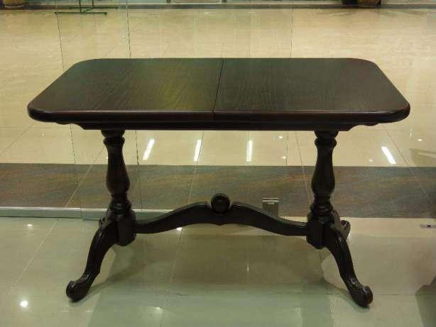 Стол раскладной Дуэт венге 110(+30)х65х75 обеденный деревянный