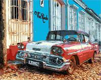 "Картины раскраски по номерам ""Виа Реале. Куба"" набор для творчества"