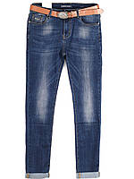 8173 Version (28-33 полубатал, 6ед.) осень стретч джинсы женские, фото 1