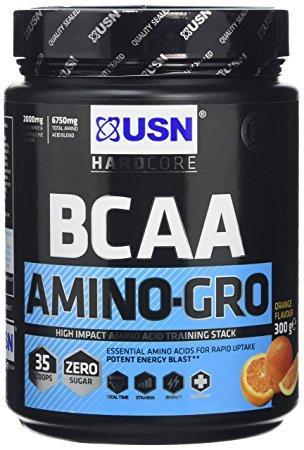 USN BCAA Amino-Gro 300 g, ЮСН БЦА Амино-Гро 300 грамм