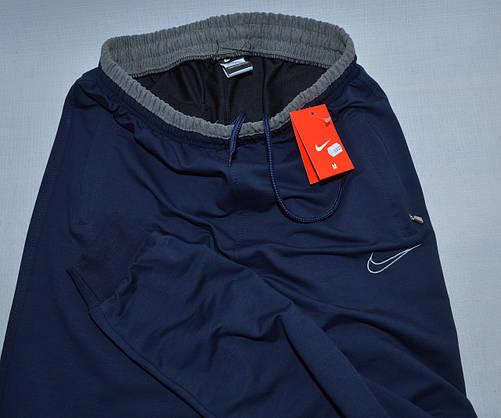 Мужские спортивные штаны Nike 0807(низ-манжет) (копия), фото 3