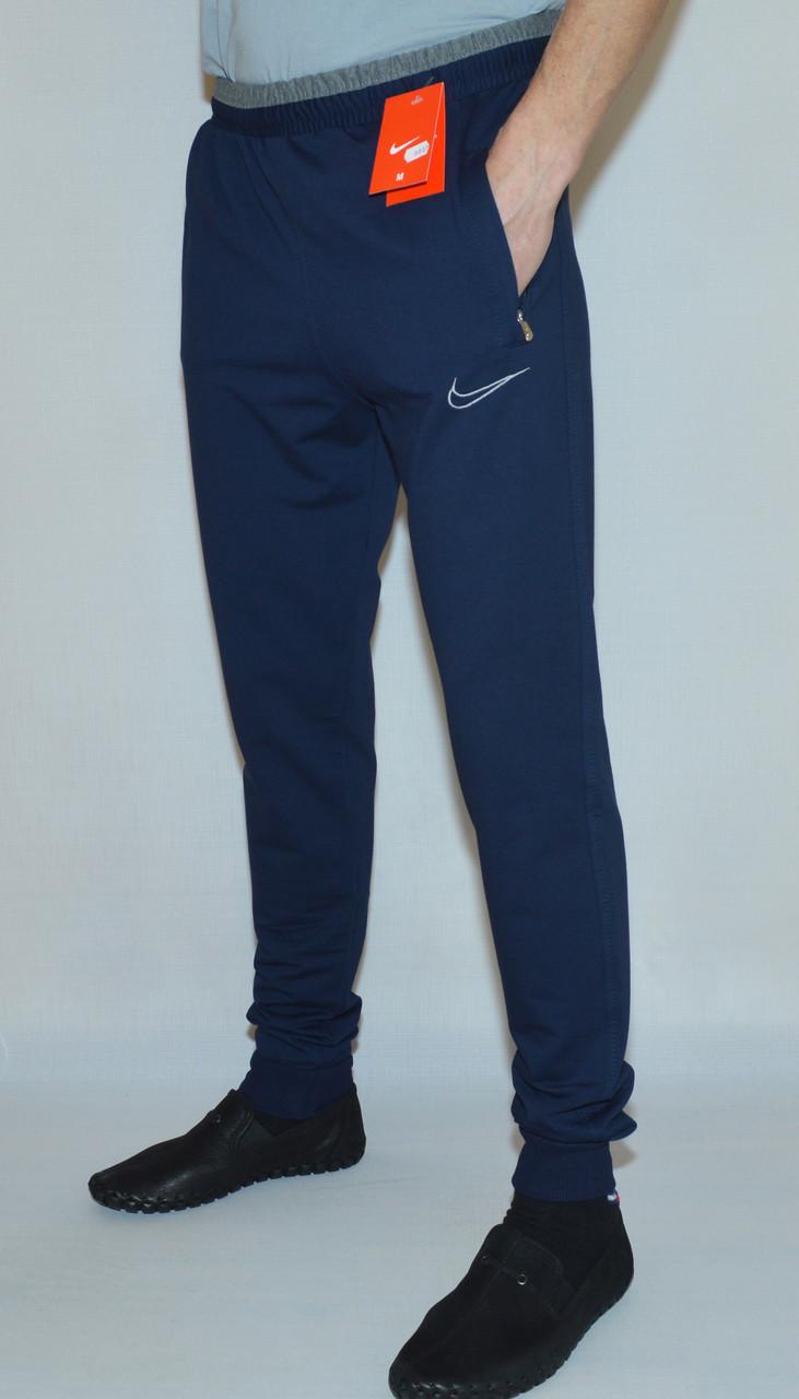 Мужские спортивные штаны Nike 0807(низ-манжет) (копия)