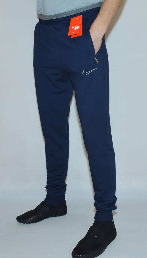 Мужские спортивные штаны Nike 0807(низ-манжет) (копия), фото 2