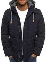 Куртка мужская зимняя синего цвета