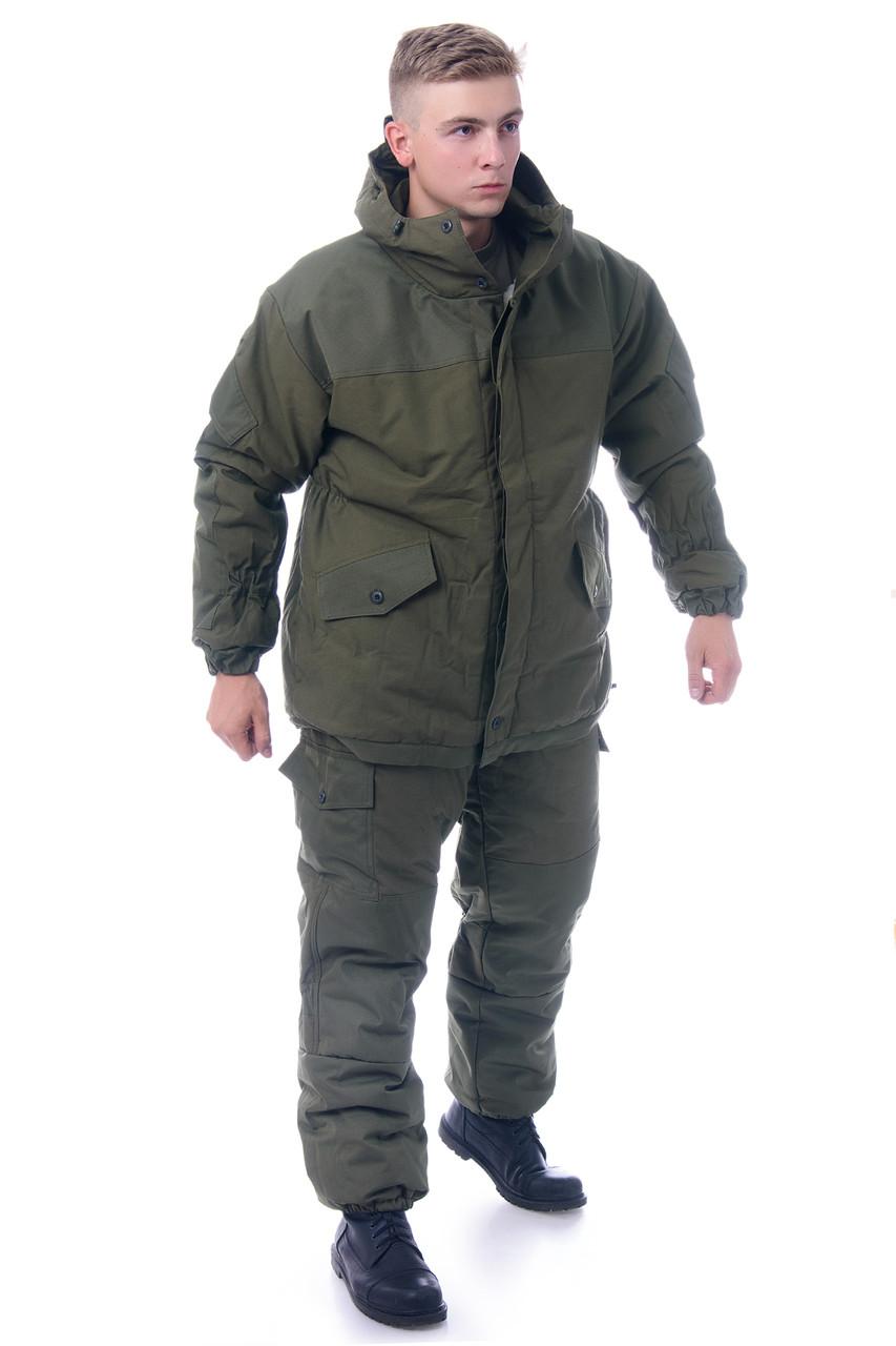 Горка зимняя олива размер 44-46