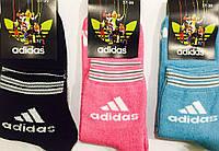 """Носки женские зимние махровые """"Adidas"""" размер 37-39, ассорти"""