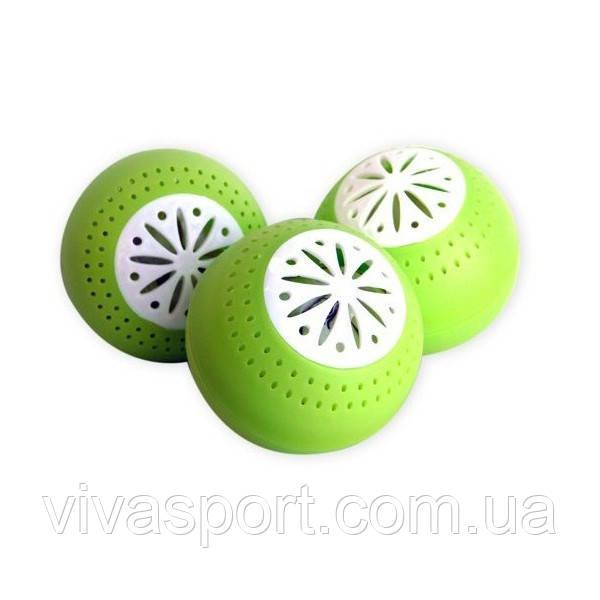 Поглотитель запаха в холодильнике Fresh Balls (Фреш Болс) - 3 шт
