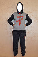 Подростковый спортивный костюм из трикотажа