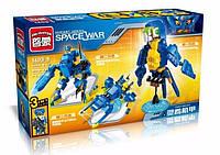 Конструктор Brick Enlighten 1403-5 Space war Попугай 3в1, фото 1
